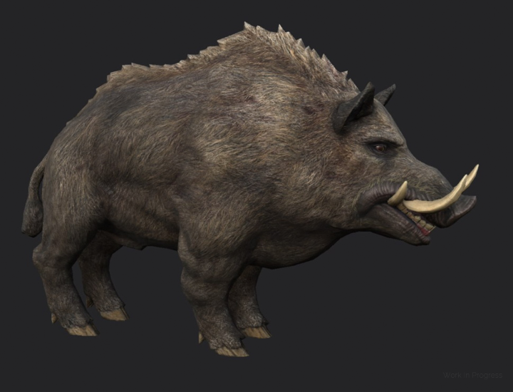 A boar from the world of Post Scriptum