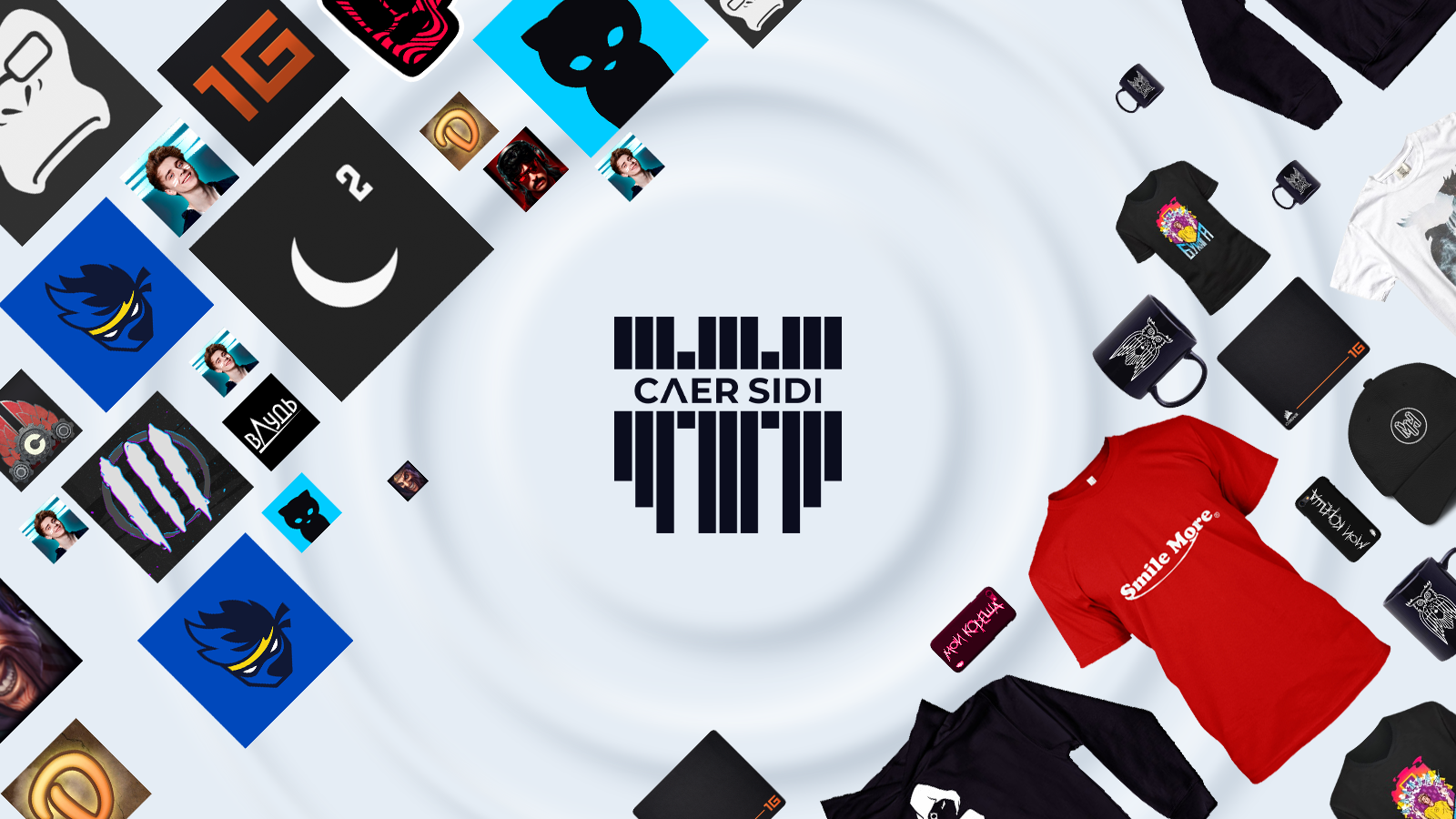 Caer Sidi - a service that helps to get additional monetization for popular influencer: increase sells of the official merchandise thanks to phygital assets