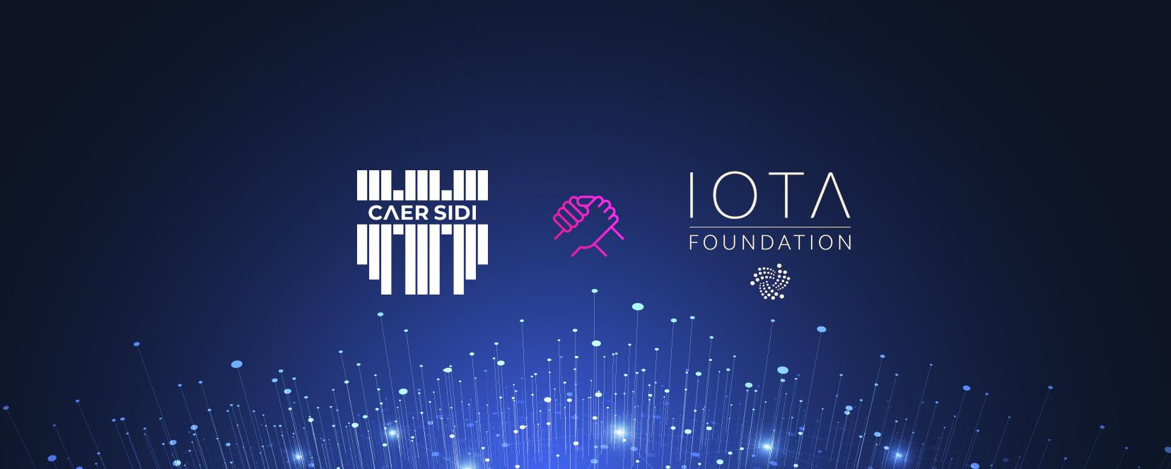 Caer Sidi partnering with the IOTA Foundation
