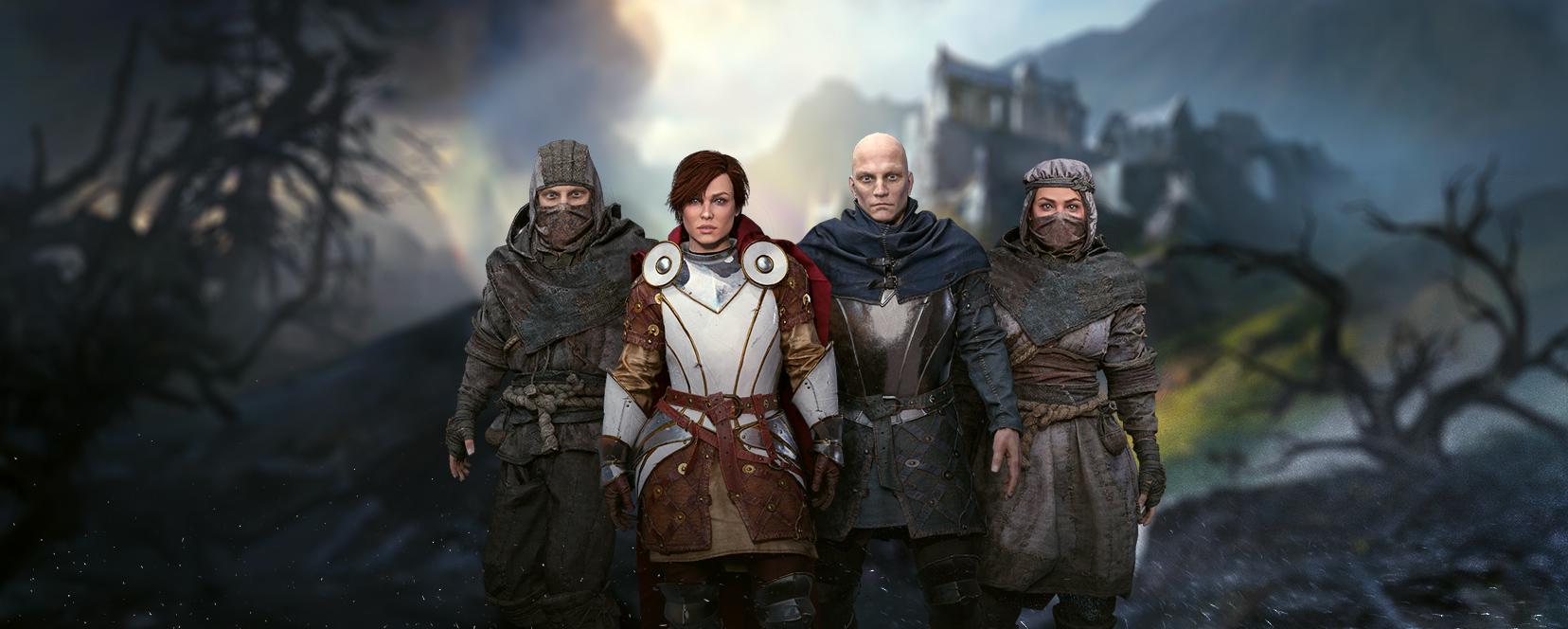 Avatars of Post Scriptum characters in our social portal for gamers, Caer Sidi Hub (VR Hub)