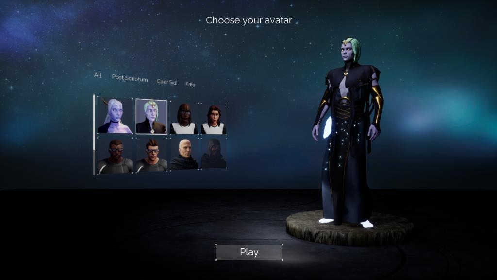 Aeddon - an avatar on Caer Sidi Hub, keeper pf the knowledge