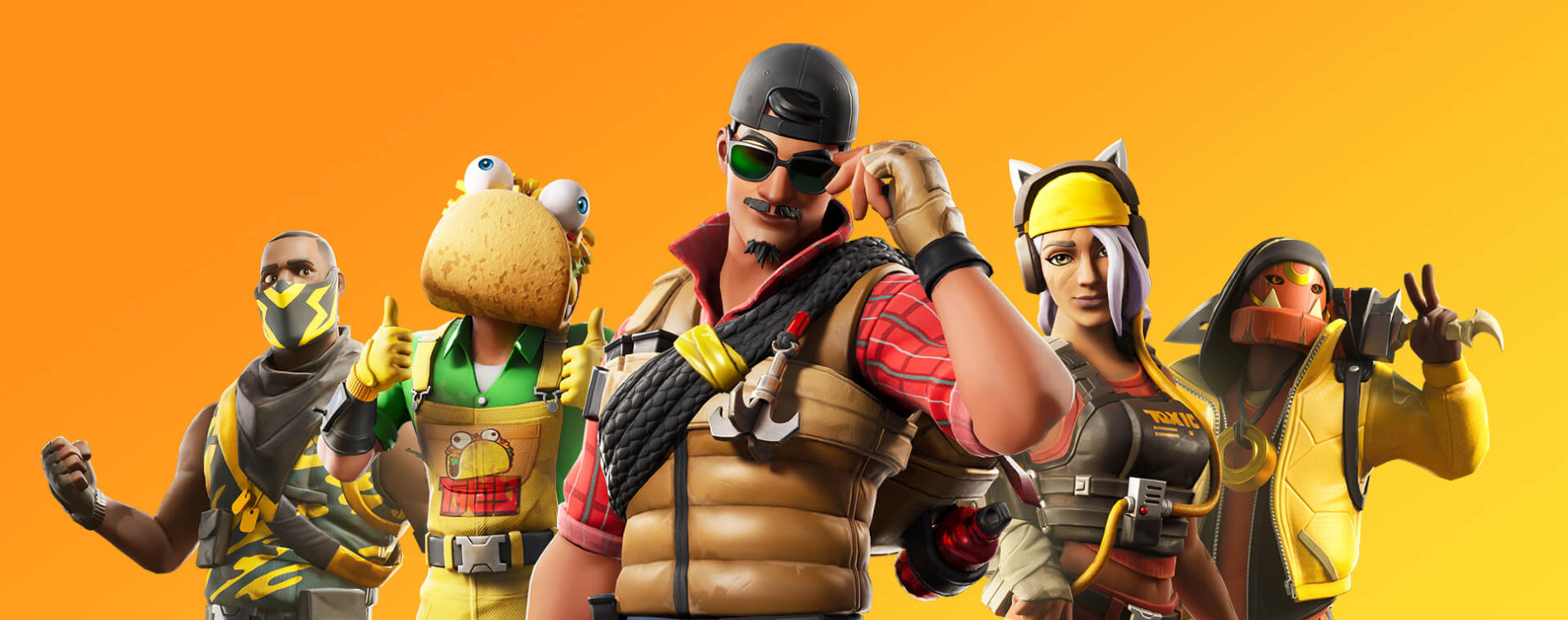 DIgital collectibles in Fortnite - such cosmetic items can be connected to physical souvenir to create phygital assets