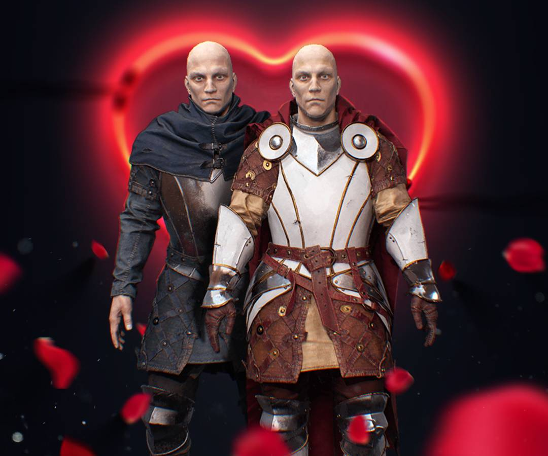 Strong Love - a Caer Sidi bundle for Valinetine's Day 2019. Avatars of Noble and Ignoble Champions for Caer Sidi Hub