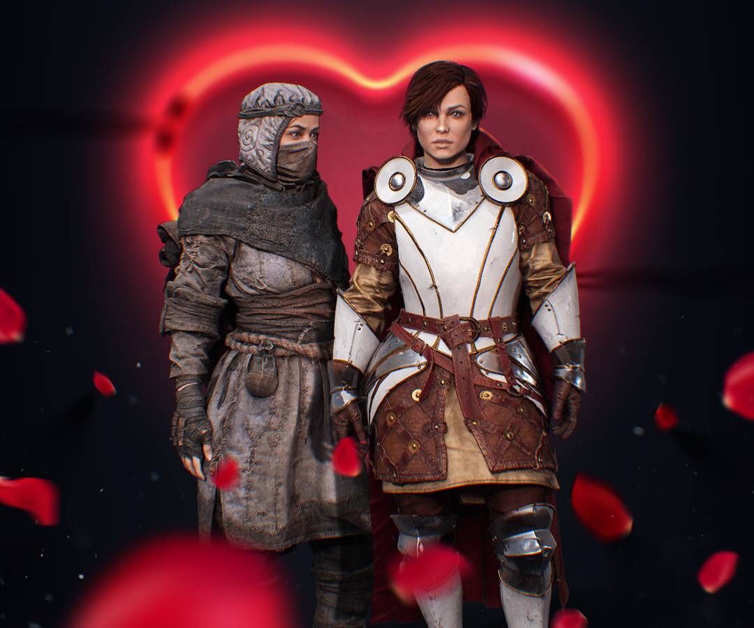 Tender Love - a Caer Sidi bundle for Valinetine's Day 2019. Avatars of Female Collector and Ignoble Championnes for Caer Sidi Hub